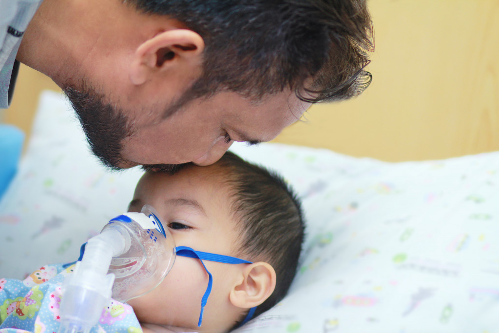 taking care of asthmatic child